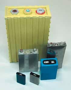 Призматические Li-ion аккумуляторы