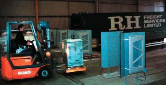 Пример инсталляции RFID-системы