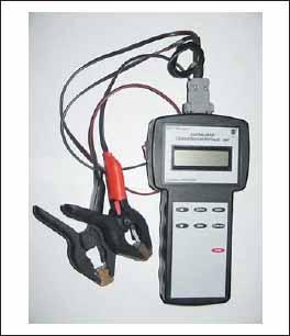 Тестер для оценки характеристик стартерных свинцово-кислотных батарей