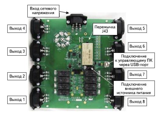 Демонстрационный модуль PDU1