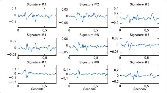 Образцы биодинамической подписи