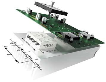 Применение MiniSKiiP серии MLI позволяет создавать компактные высокочастотные инверторы