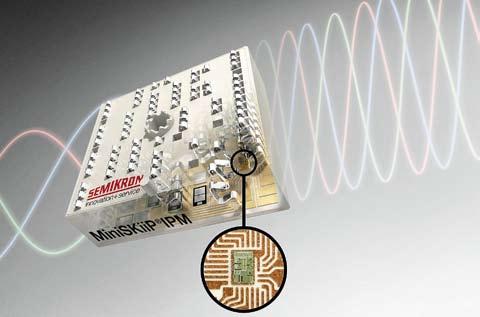 Приводной интеллектуальный модуль MiniSKiiP IPM