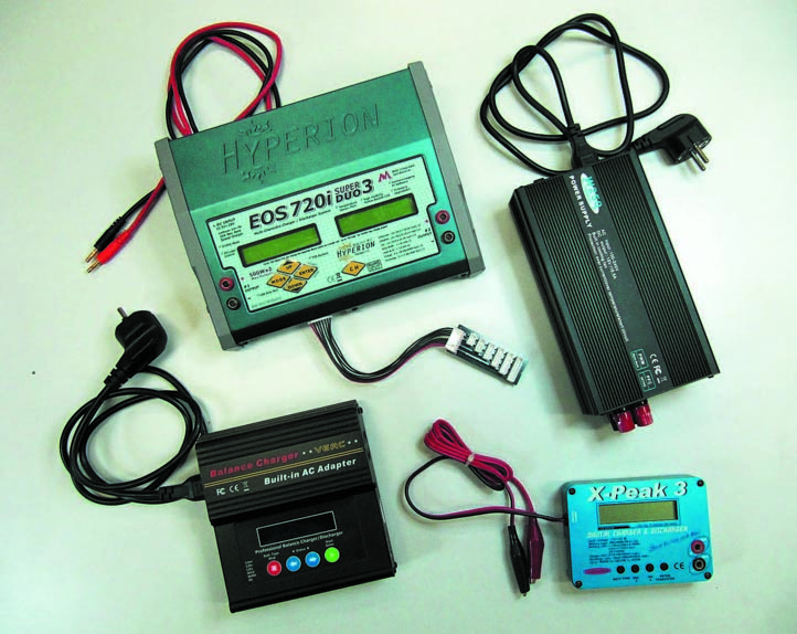 Универсальные ЗУ дляLi-ion-батарей