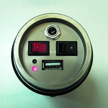 Фонарь с USB-разъемом длязарядки мобильных приложений