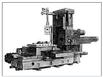 Расточный станок модели 2А620Ф11