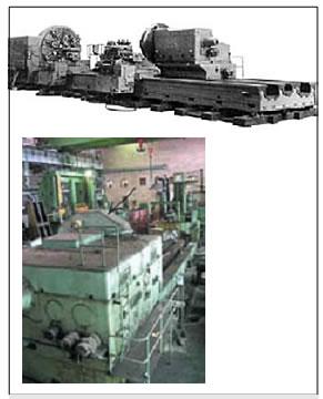 Тяжелый токарный станок модели 1682А-М