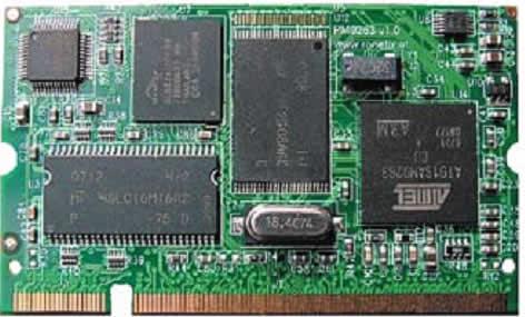 PM9263 — SO-DIMM встраиваемый процессорный модуль на AT91SAM9263 (фирма Ronetix)