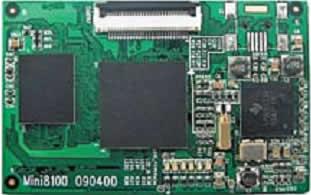Mini8100 — встраиваемые процессорные модули на OMAP35030