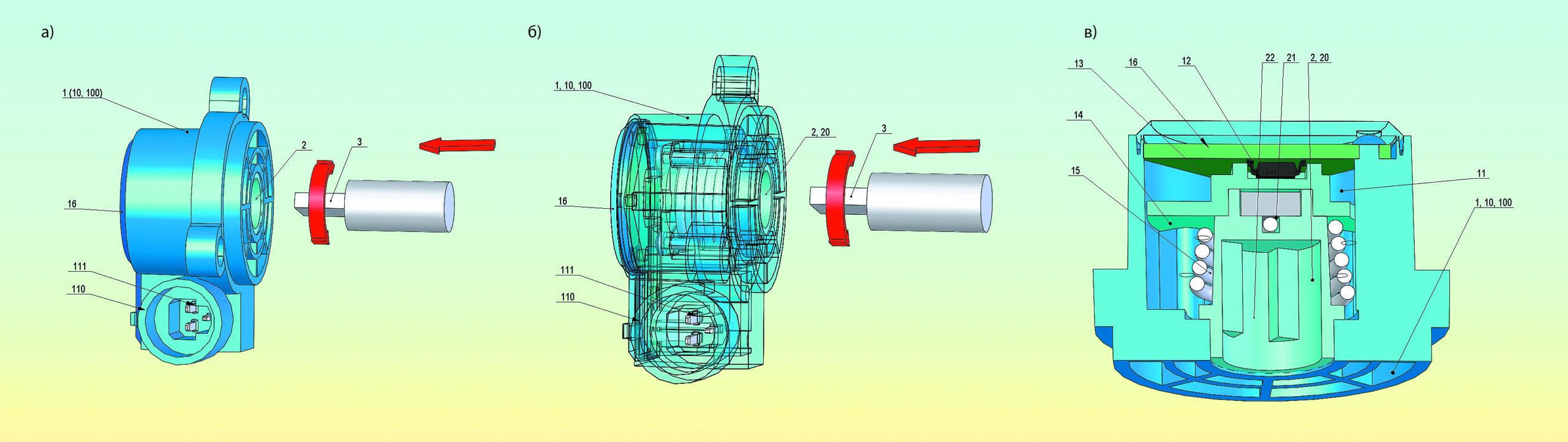 Ключевой пример автомобильных датчиков магнитного поля на основе эффекта Холла: датчик положения дроссельной заслонки (датчик абсолютного углового положения дипольного диаметрально намагниченного магнита)