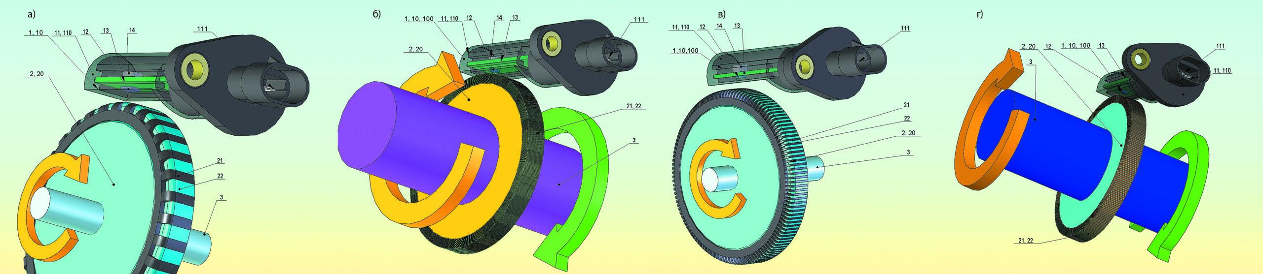 Измерительная система датчика скорости автомобиля с использованием компонентной базы на основе ТМР-эффекта