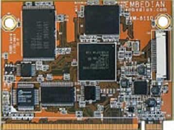 Встраиваемый процессорный модуль на Marvell PXA320 (806 МГц) фирмы Embedian — MXM-8110