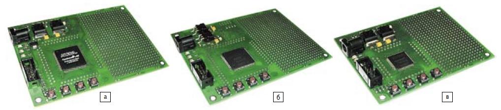 Общий вид отладочных комплектов FPGA