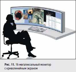 16-мегапиксельный монитор с криволинейным экраном