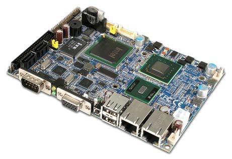 Одноплатный компьютер 3,5″ ECM-945GSE
