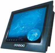 Панельный компьютер серии NPSxx для морских приложений