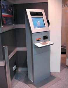 ЖК-панель серии SLO1741 в банкомате
