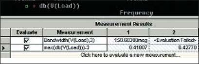 Новое выражение для измерения в таблице Measurement Results