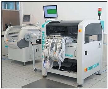 Установщик компонентов Place All-600 и полуавтомат нанесения трафаретной печати Dek-248