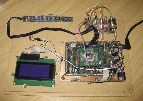 Макет измерителя напряжения на базе ADuCM360