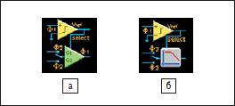 Условное обозначение управляемого мультиплексора