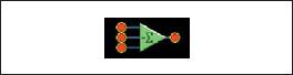 Условное обозначение сумматора с инверсным выходом