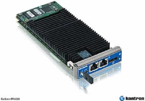AdvancedTCA-модуль Kontron AM4020, построенный на комбинации из процессора Intel Core i7 и чипсета Intel QM 57 PCH