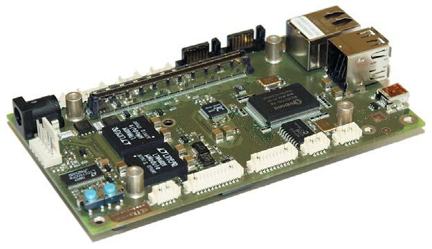 Рис. 5. Универсальная плата-носитель от Kontron из набора Starter-Kit