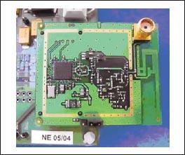 Пример готового решения ZigBee с ИМС CC2420 Texas Instruments и внешним дополнительным усилителем мощности РЧ