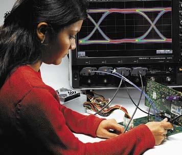 Работа с осциллографом серии WaveMaster 8 ZI-A