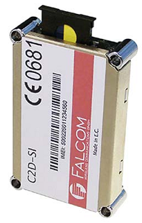 Рис. 1. Falcom C2D-SI встраиваемый ОЕМ-модуль 900/1800 GSM/GPRS/GSM