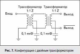 Конфигурация с двойным трансформатором
