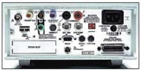 Задняя панель электрометра Keithley 6517А