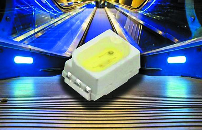 Светодиод PLW114050 в корпусе PLCC типа 3020