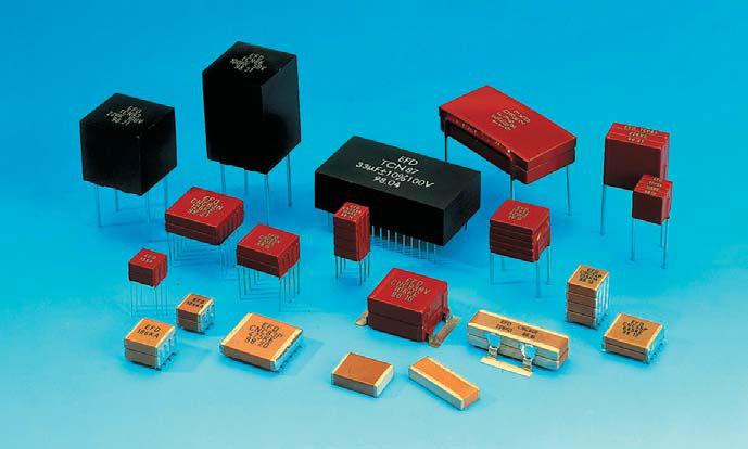Высокоемкостные керамические конденсаторы Eurofarad