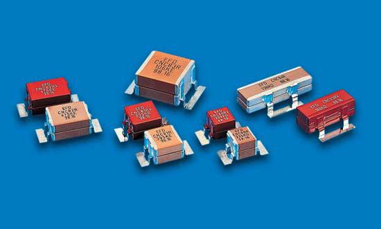 Керамические конденсаторы с «ленточными» выводами