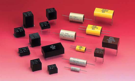 Высокоемкостные пленочные конденсаторы Eurofarad