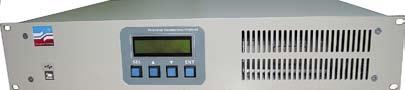 Внешний вид регулятора температуры PT104-02 в 19-дюймовом исполнении