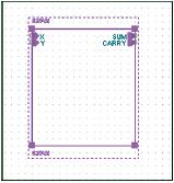 Рис. 17. Иерархический блок с входными и выходными портами