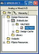 Рис. 3. Структура проекта в окне Project Manager