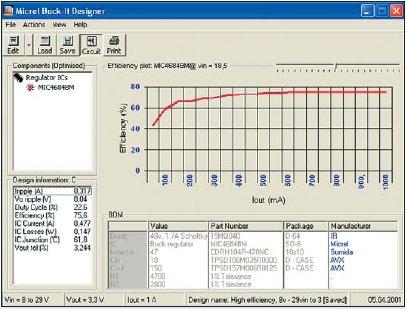 Рис. 7. Вид главного окна программы после нажатия кнопки Graph