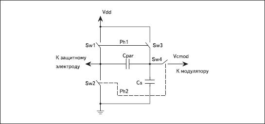 Схема подключения защитного электрода