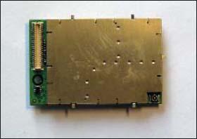 Внешний вид модуля EDG0100 со стороны разъемов