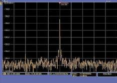 Пример наблюдения спектра в расширенном окне