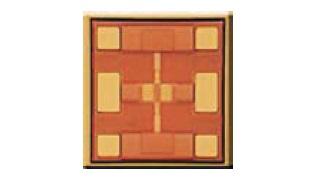 Внешний вид чипа микросхемы одиночного аттенюатора