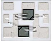 Рис. 15. Типовая сборка радиатора твердотельного реле с установленной на нем керамикой и кристаллами тиристоров