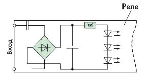 Рис. 7. Реле переменного тока трехфазные с управлением переменным напряжением