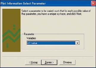 Выбор варьируемого параметра