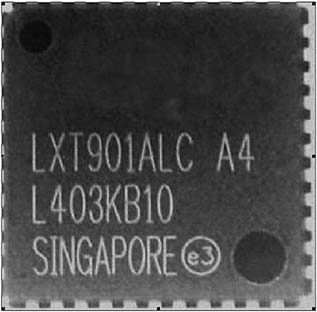 Рис. 6. Пример маркировки компонента
