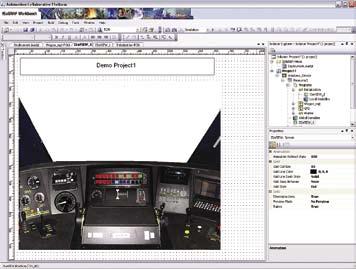 Пример интерфейса модуля ISaVIEW